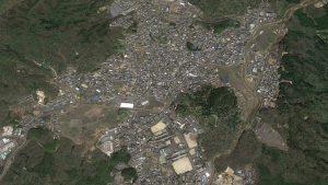 滋賀県甲賀市信楽 (Google Earth)